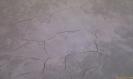 Автосервис :: Первоначальный вид бетонной стяжки (неровности, трещины)